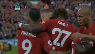 اهداف مباراة ليفربول ونوريتش سيتي في الدوري الانجليزي 9-8-2019 - يلا شوتو