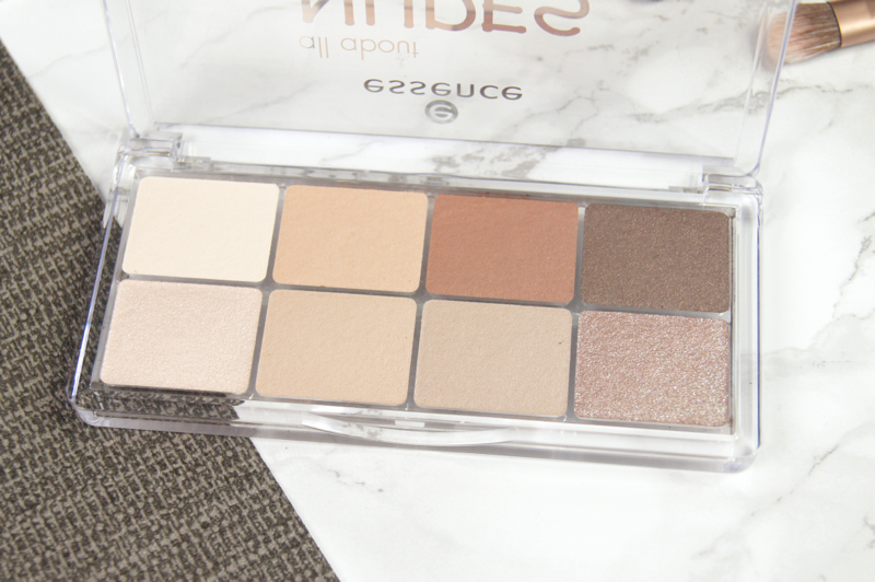 essence all about nudes eyeshadow palettes review swatches best affordable shadows