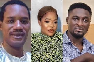 Seun Egbegbe, Toyin Abraham and Adeniyi Johnson