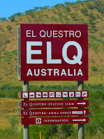 El Questro sign