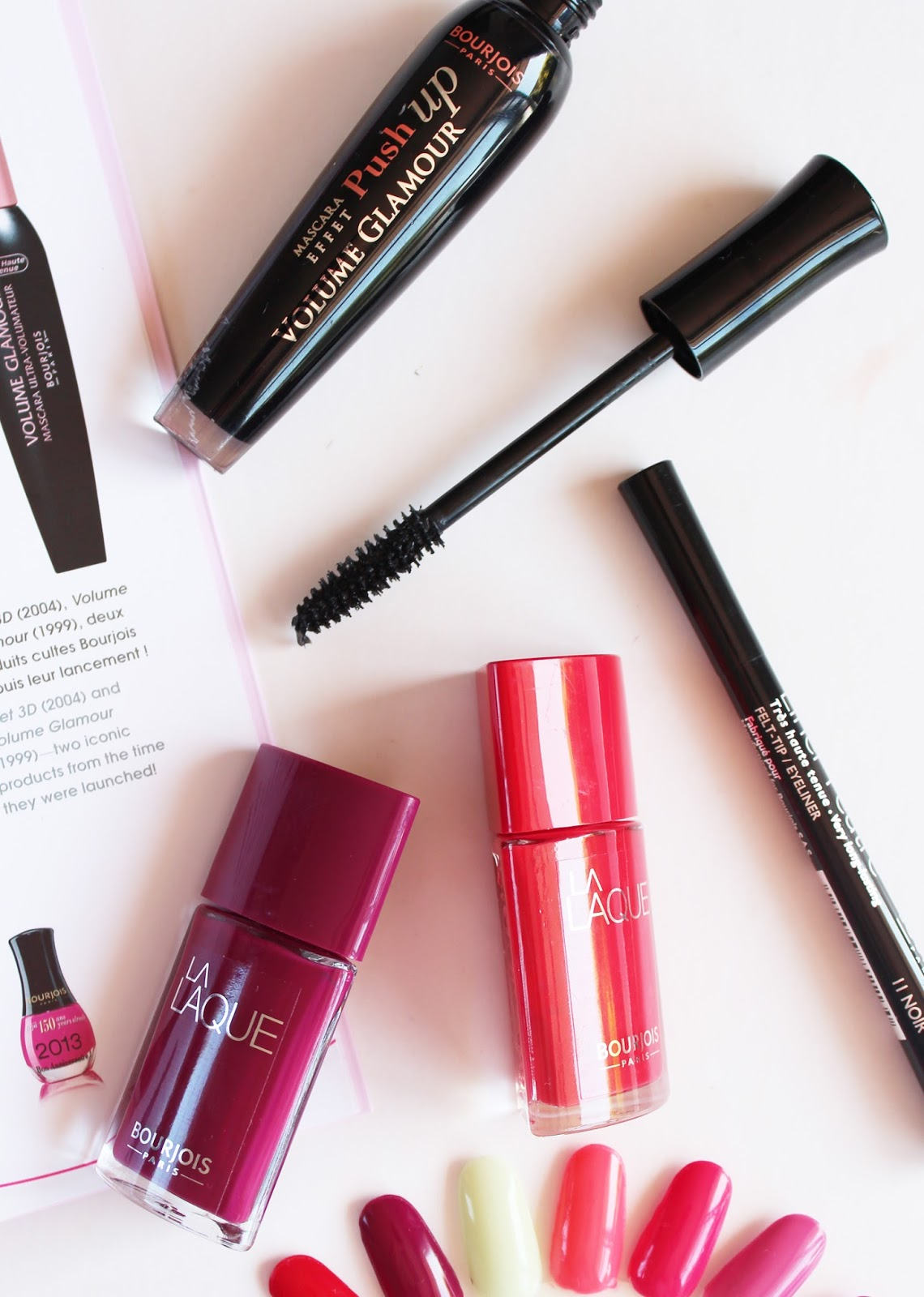 BOURJOIS PARIS | Upcoming Releases + First Impressions - Mascara, Felt Tip Liner + La Laque Polishes - CassandraMyee