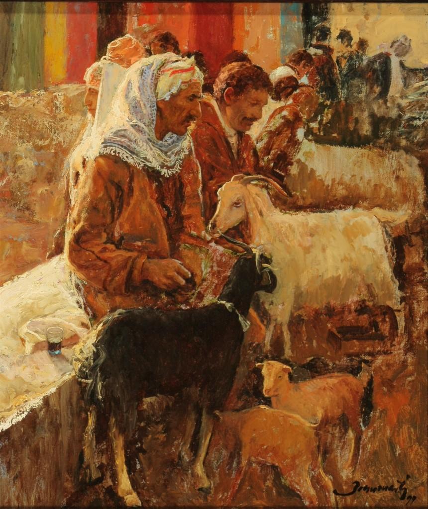 Joan Marti Aragones Pastores arabes