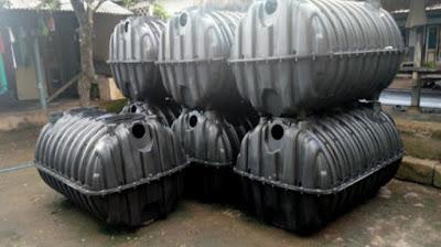 Material tangki septik individual yang disebut jadi sumber bancakan banyak oknum di Lombok Barat.