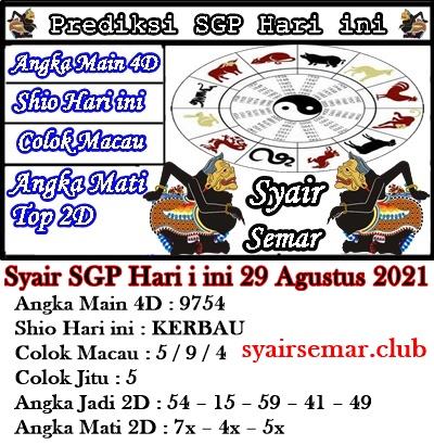 Kode Syair Togel Sgp 29 Agustus 2021 Kode Syair Togel Forum Syair Sgp Prediksi Syair Hk Hari Ini