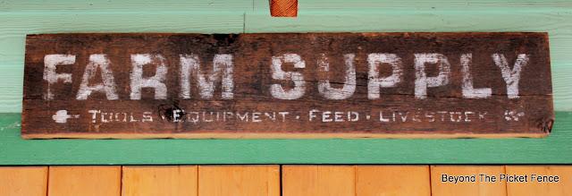 Rustic Farm Supply Sign