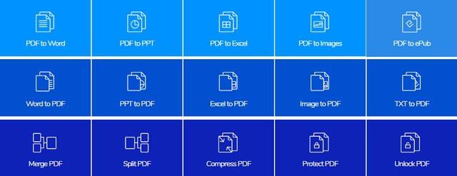 أفضل موقع لتحويل ملفات PDF إلى Word ، JPG ، Excel ، PPT