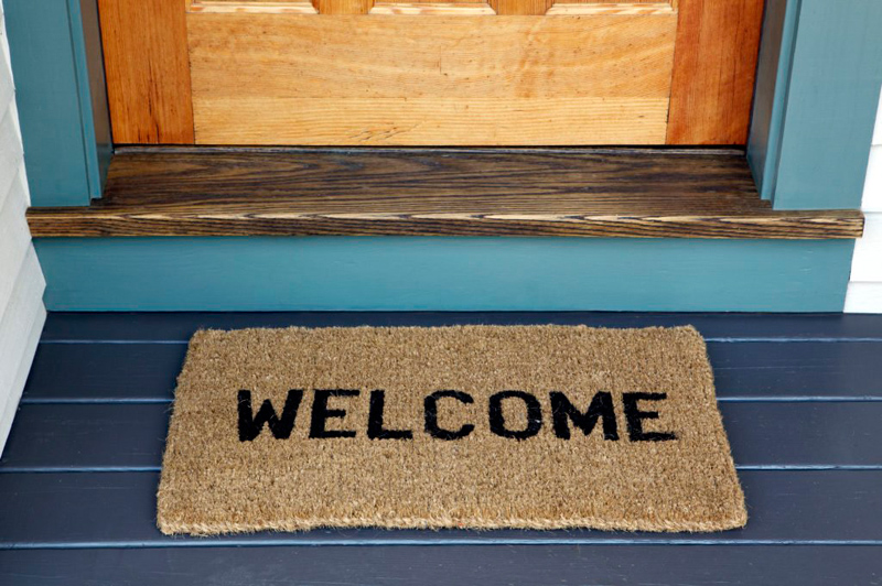 How Often You Should Be Cleaning Your Welcome Mat