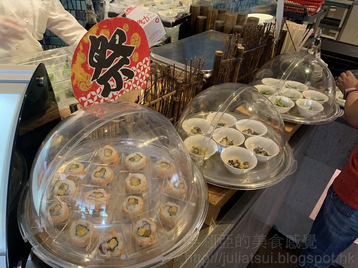 早利亞的美食感覺: 近 6折Lunch buffet @ 石門 Marriott