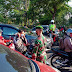 Lima Ratus masker di Traffic Light Karangpoh