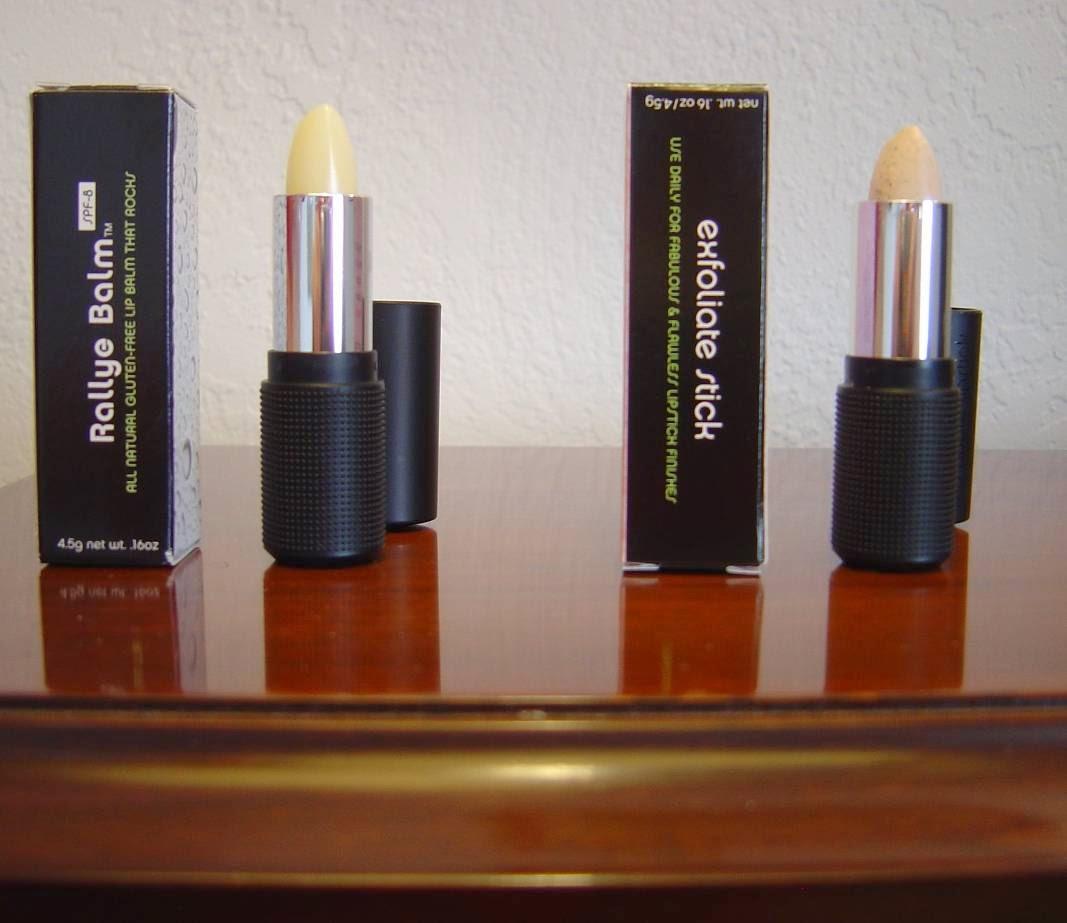 Red Apple Lipsticks Rallye Balm and Exfoliate Stick.jpeg
