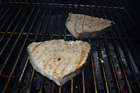 Simplly Grilled Swordfish with Lemon