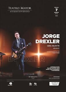 Concierto de JORGE DREXLER en Teatro Mayor 2020