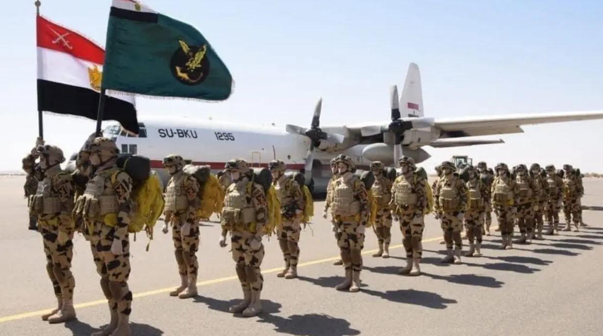 """الجيش المصري ينشر لقطات مصورة لمناورات """"حماة النيل"""""""