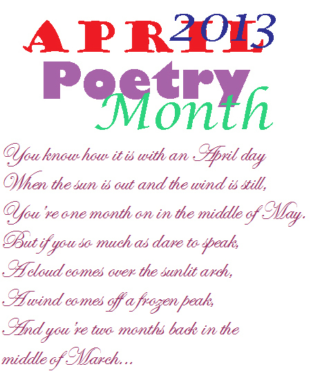 Keeping It Simple (KISBYTO): National Poetry Month