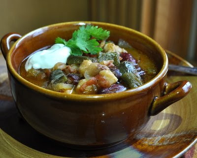 Quick Green Chile Stew