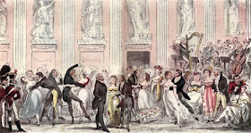 The Cyprian's Ball by R Cruikshank in The English Spy by B Blackmantle (1825)