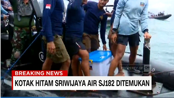 Penyelam TNI AL Berhasil Temukan Black Box Sriwijaya Air SJ-182