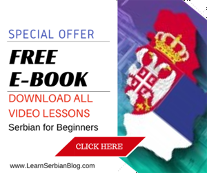 Suporting Serbian lessons daily
