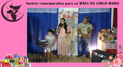 Escola Chicó Maria realizou sorteio para a as mães