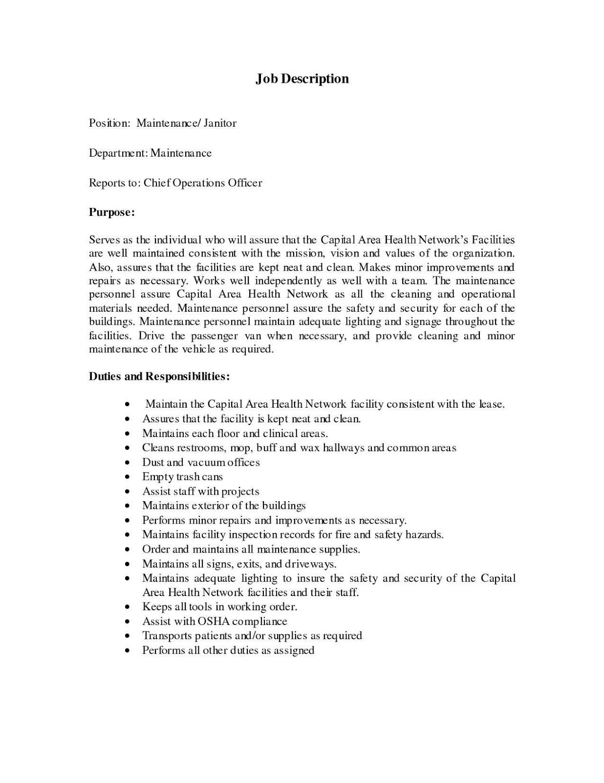 janitorial resume samples janitorial supervisor resume sample janitorial sample resume examples janitorial services resume sample janitorial objective resume samples janitorial manager resume sample