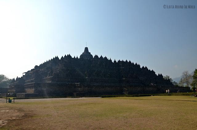 El templo de Borobudur