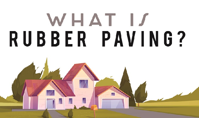 What Is Rubber Paving? #infographic