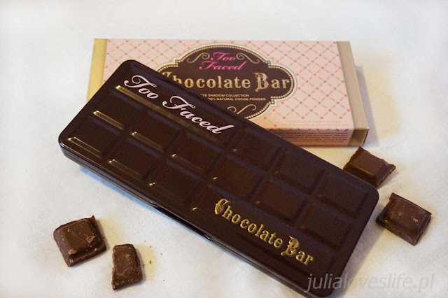 Too Faced Chocolate Bar recenzja