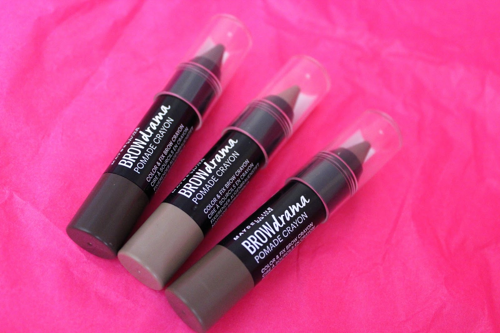 c019399ece9 Maybelline Brow Drama Pomade Crayons | Bags of Beauty | Bloglovin'