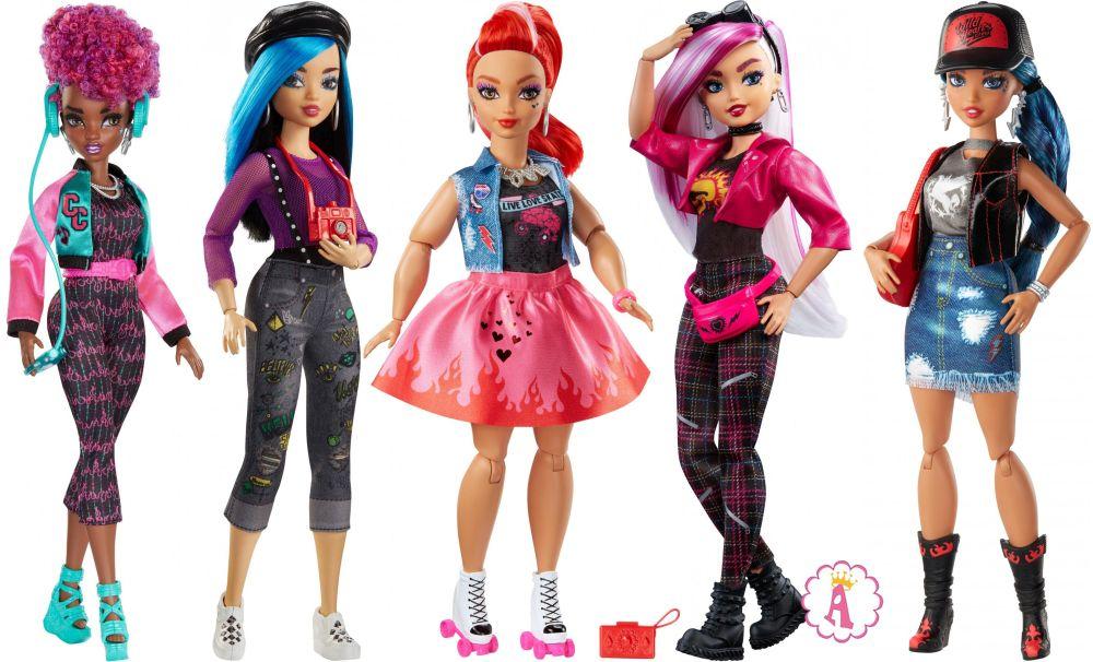 Куклы Wild Hearts Crew шарнирные модницы как барби