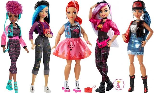 Шарнирные куклы Wild Hearts Crew: модницы из команды диких сердец