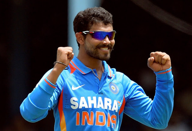 Very Succes Cricketer Ravindra Jadeja HD Wallpapers