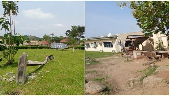 Rainstorm destroys buildings, electric poles in Osun Poly