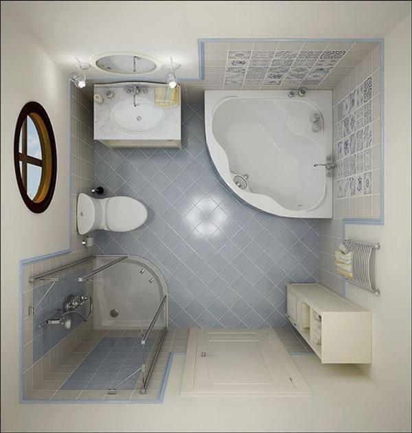 Desain Kamar Mandi Kecil Mungil Minimalis Sederhana