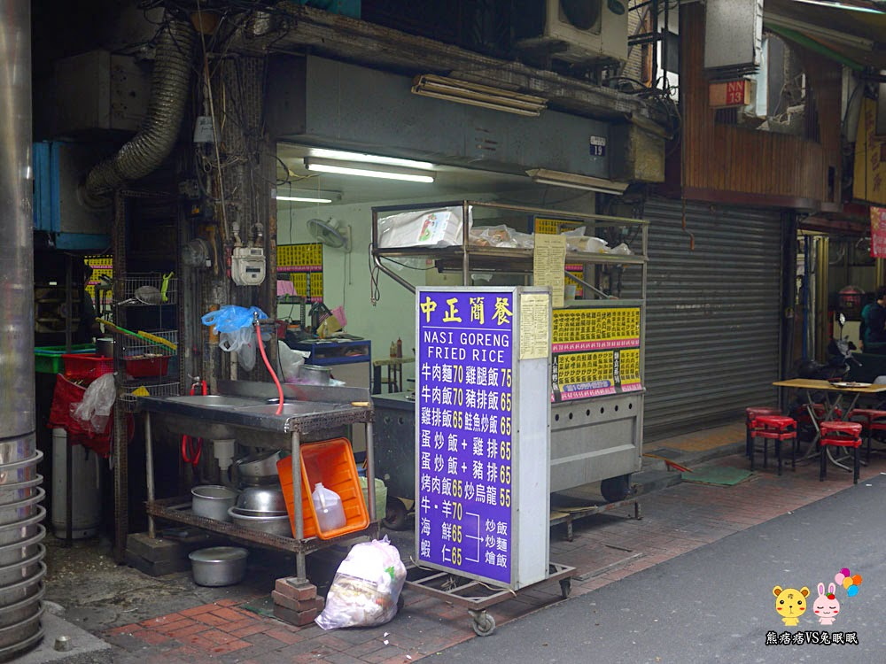 P1230146 - 台中電子街美食推薦│超特別的中正簡餐雞排炒飯蛋包飯