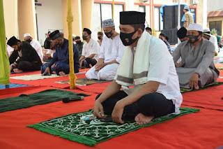 Polres Bone Gelar Shalat Id dan Penyembelihan Hewan Qurban