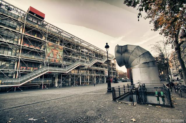 Centro Georges-Pompidou-Parigi