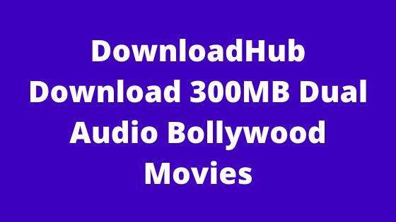 DownloadHub – Download 300MB Dual Audio Bollywood Movies