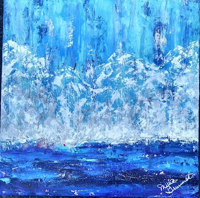 Millie Brummet | Alaska | 20x20 Gallery wrap | $425