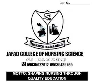 JAFAD College of Nursing Science Form 2020/2021 [UPDATED]