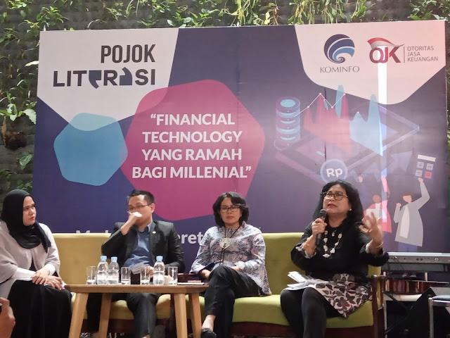 Pojok Literasi Medan, Kupas Tuntas Financial Technology dari Regulasi Hingga ke Praktisi
