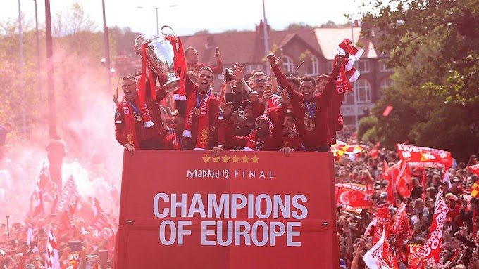The story of six Liverpool's champions league journey and my story