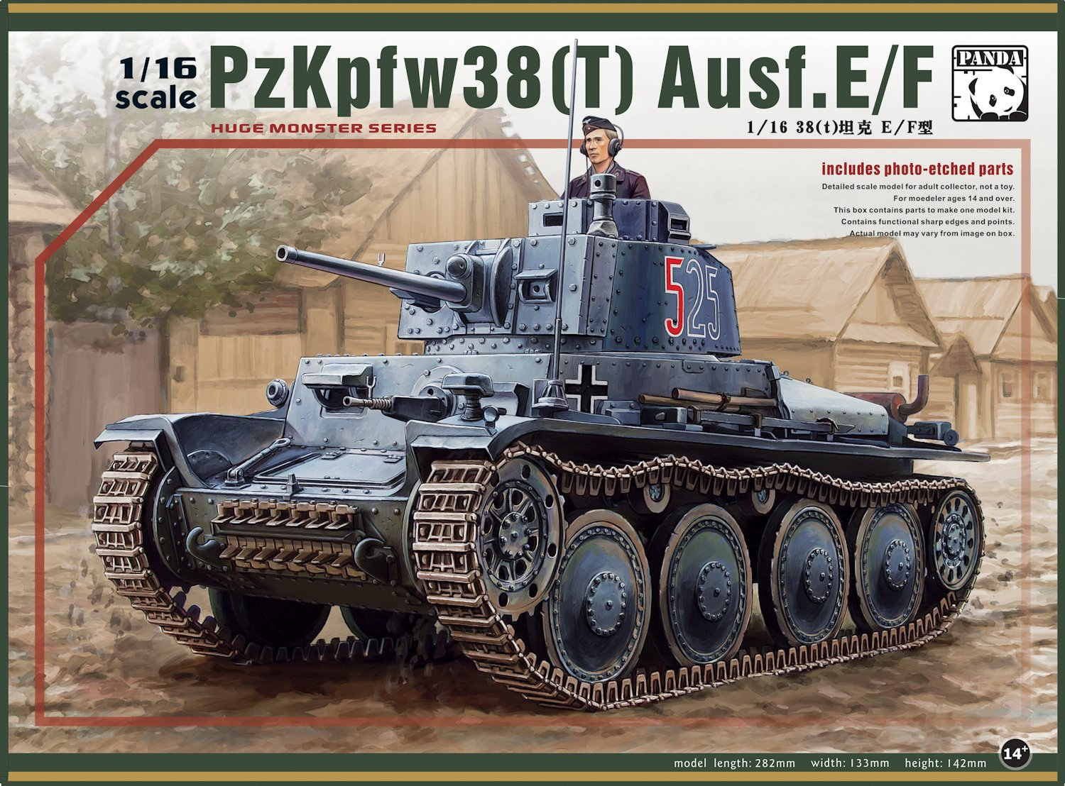 The Modelling News 116th Panzer 38t from PandaHobby