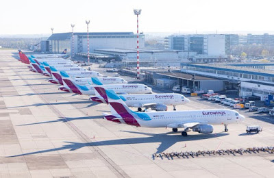 Grounded Eurowings