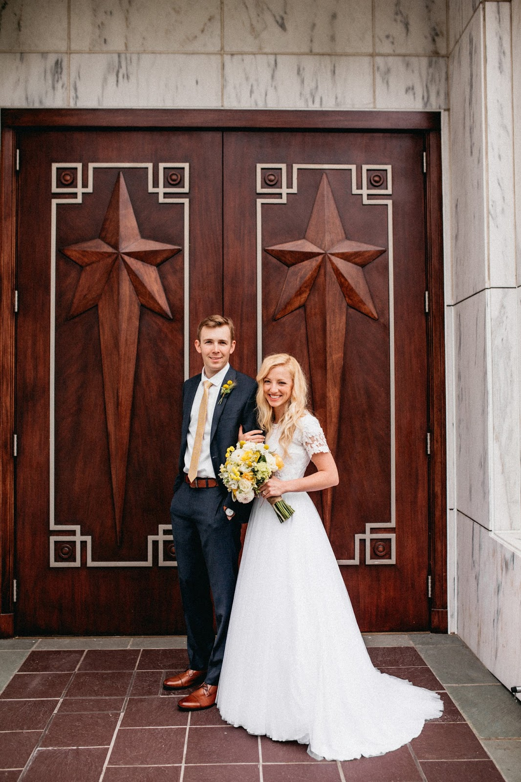 Portland Oregon Temple Doors