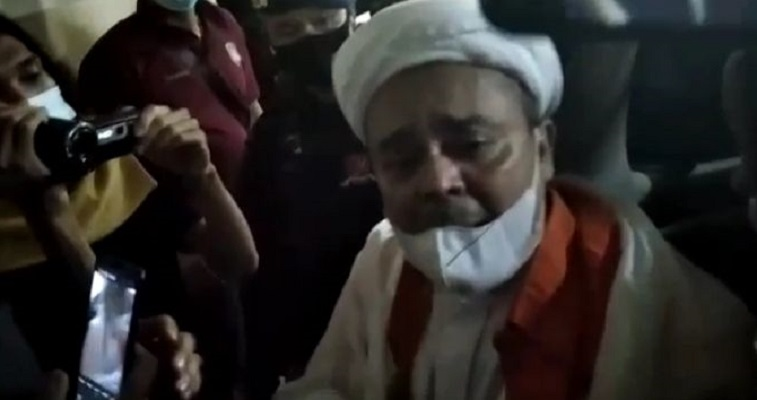 Malam-malam Habib Rizieq Didatangi Sekumpulan Jaksa Disuruh Tandatangan