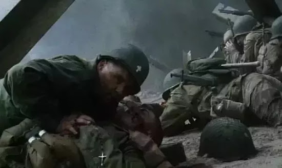 Catholic Military Chaplain in Saving Private Ryan