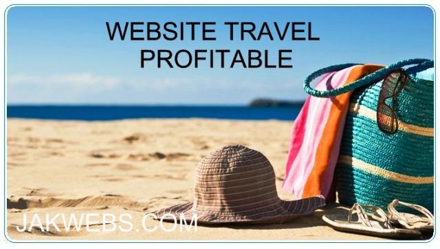 JASA PEMBUATAN WEBSITE TRAVEL ONLINE