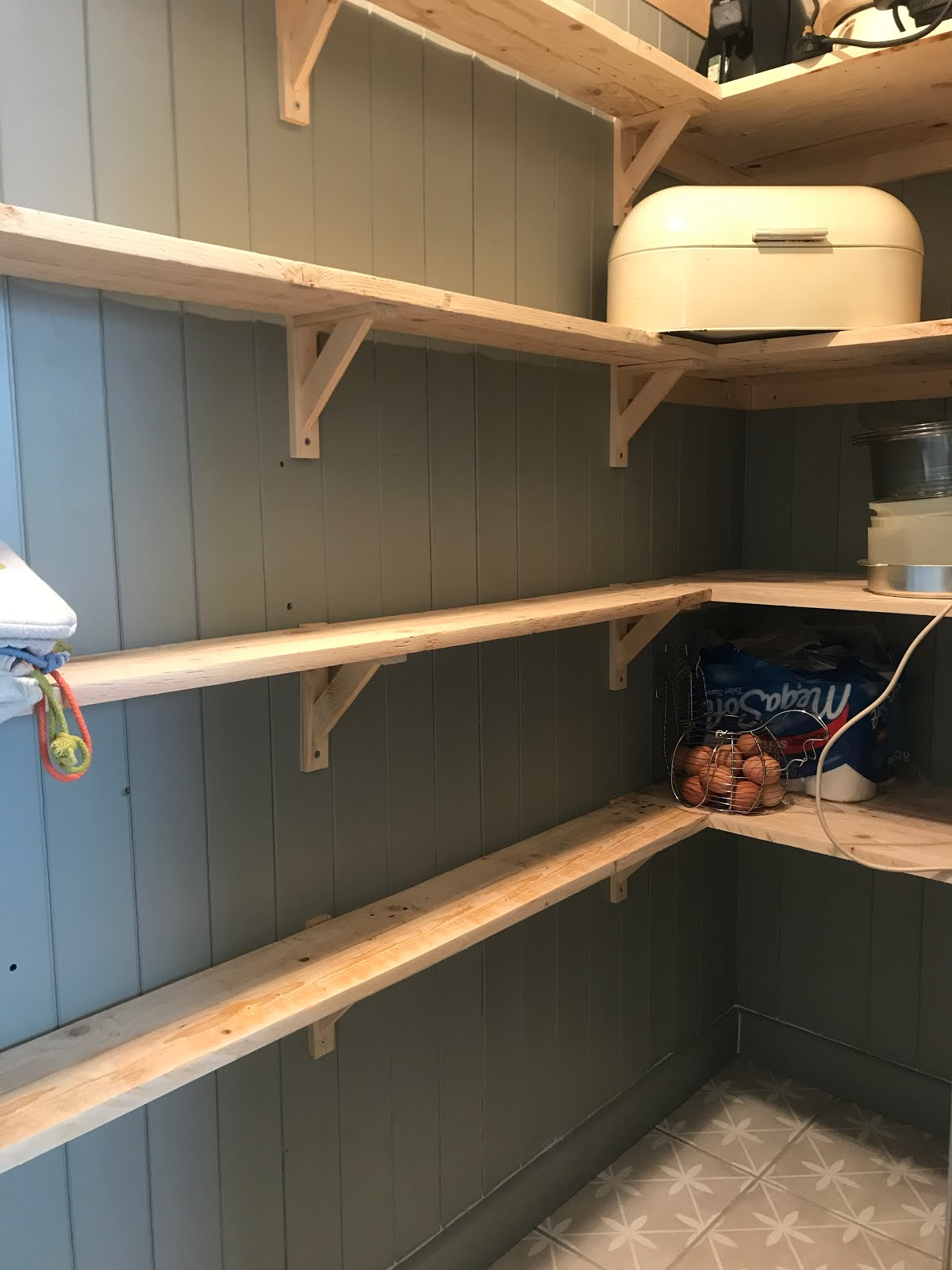 Small Space Ideas for Pantry