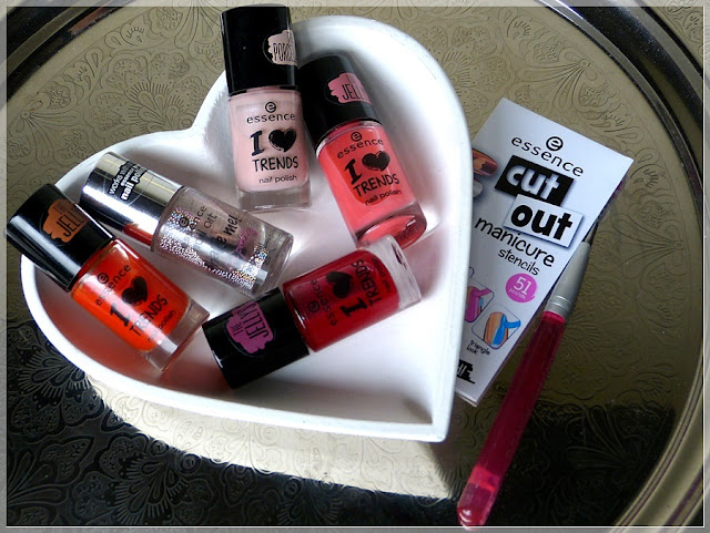 essence nail art Utensilien