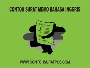 Gambar untuk Contoh Memo dalam Bahasa Inggris Beserta Artinya